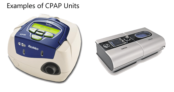 Examples of CPAP Units