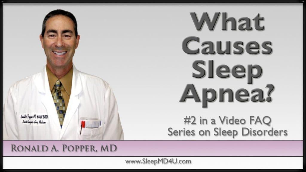 what causes sleep apnea