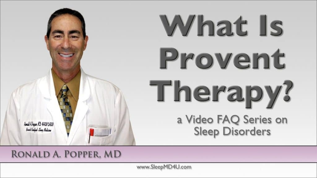 what is provent therapy for osa