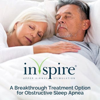 Inspire therapy for OSA